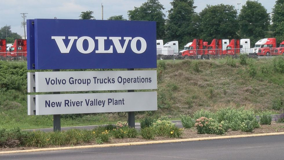 United Auto Workers at Dublin Volvo plant go on strike  image