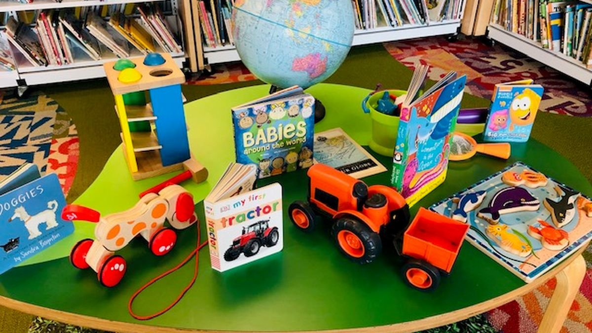 Some of the toy kits designed to encourage reading and creative play among young children