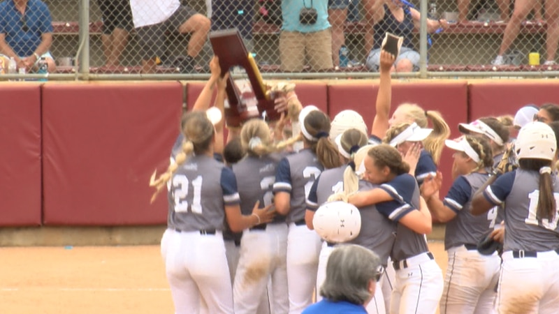 The Marlins, the ODAC Champs, celebrated another national softball title on Tuesday in Salem.
