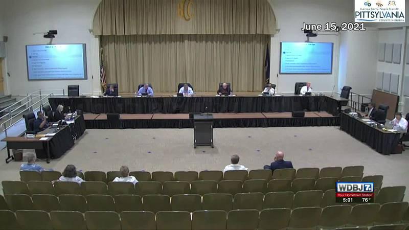 Pittsylvania County Board of Supervisors Censure