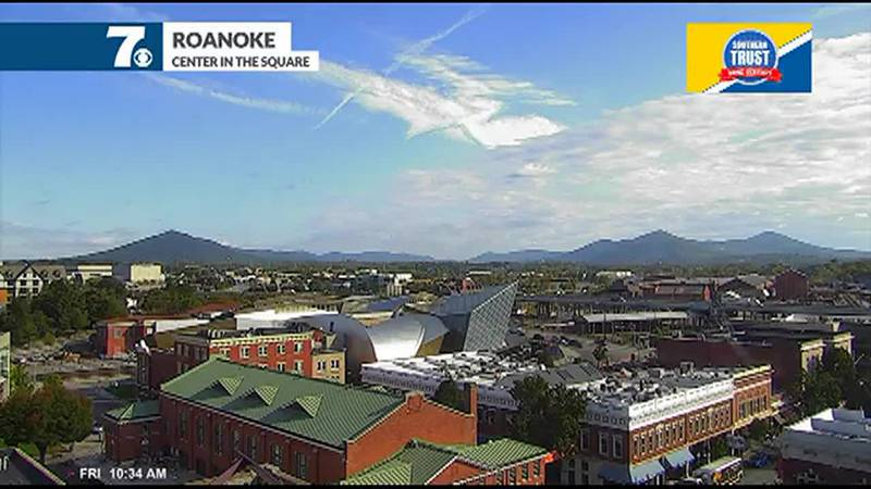 A fairly nice day across the region, but we remain cool.