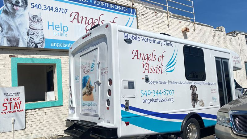 The Angels of Assisi received the van thanks to the funds from the Kathy W Coldewey Revocable...