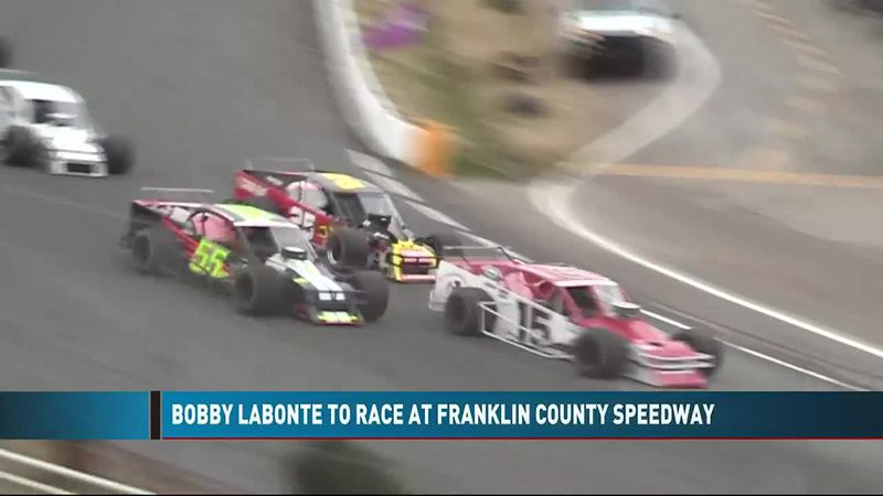 Labonte at Franklin County Speedway