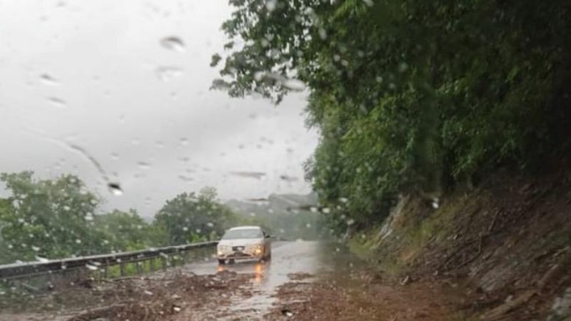 Bedford mudslide on 501