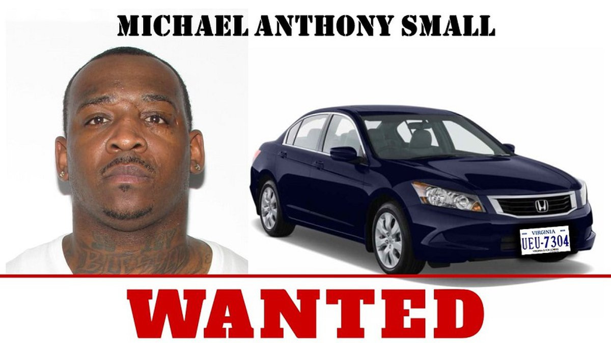Michael Anthony Small, wanted for second-degree murder in South Boston