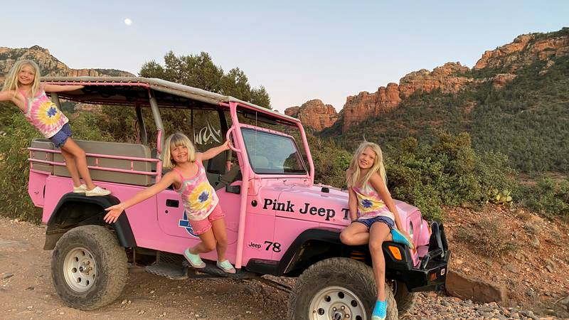 Nora, Anna and Ella Kopf experience cross-country road trip during the pandemic.