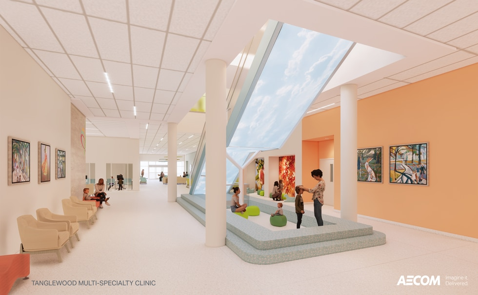Carilion Children's Tanglewood Center is set to open in October 2021.