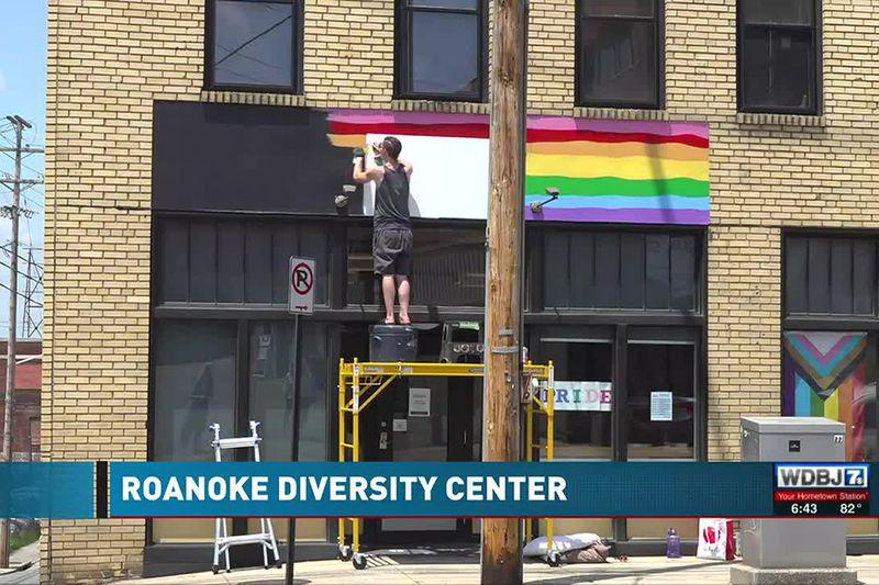 Roanoke Diversity Center Mural