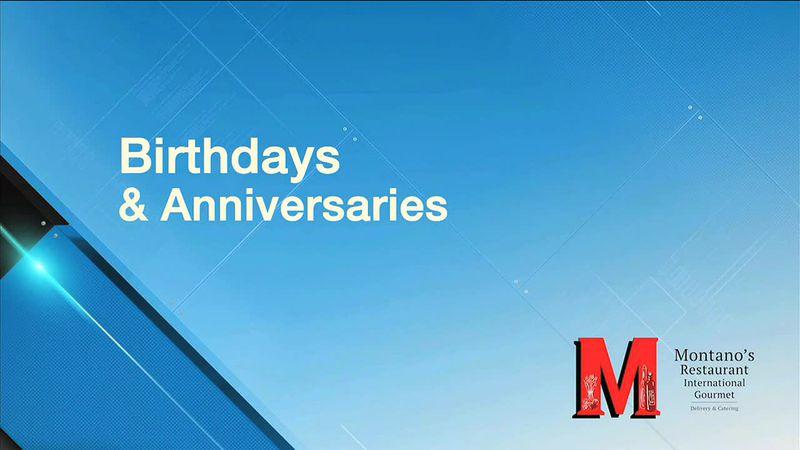 Birthdays and anniversaries for January 23, 2021