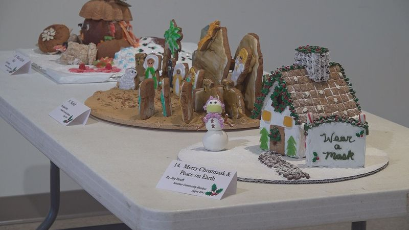You can check out these gingerbread houses at the 15th annual Gingerbread Festival at the Salem...