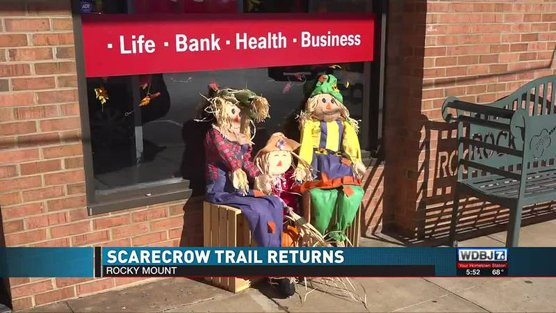 Rocky Mount Scarecrow Trail