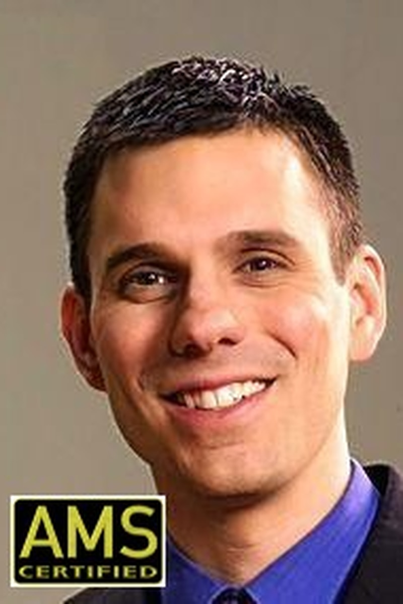 Headshot of Meteorologist Leo Hirsbrunner, Meteorologist