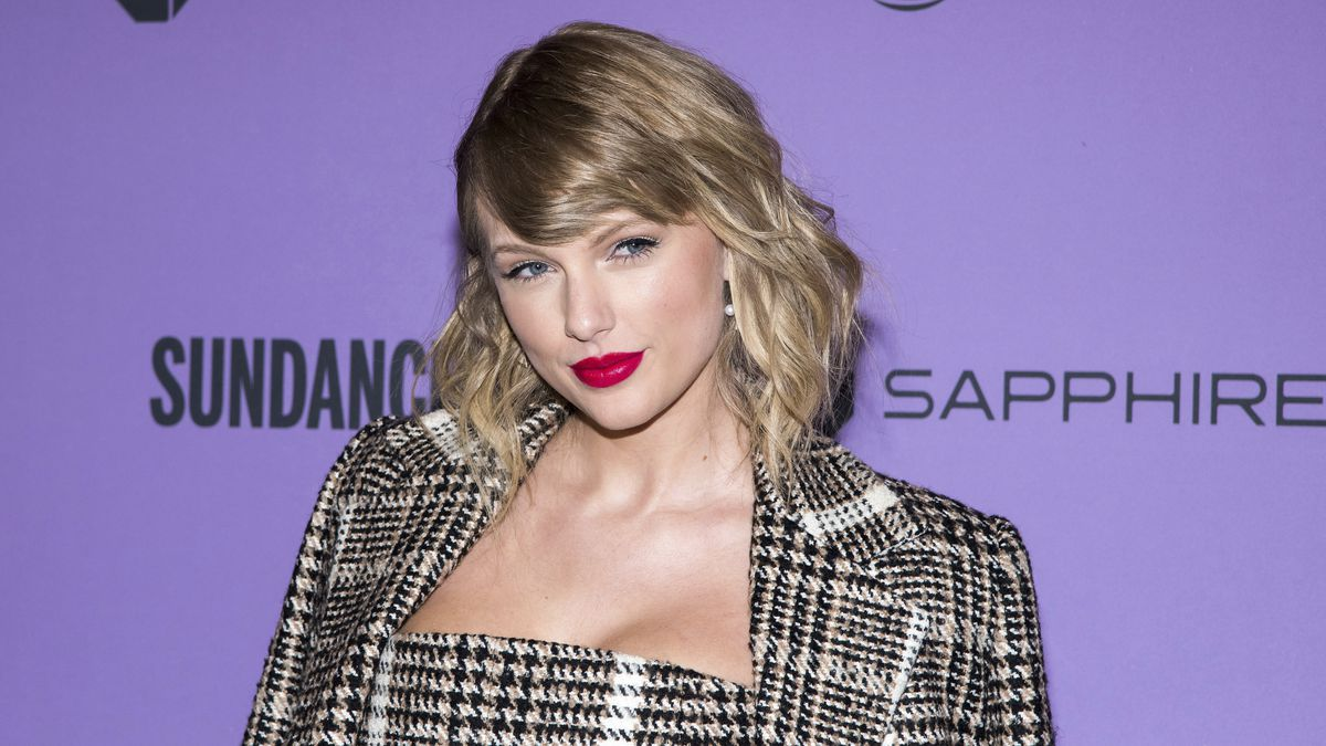 """FILE - Taylor Swift attends the premiere of """"Taylor Swift: Miss Americana"""" during the 2020..."""