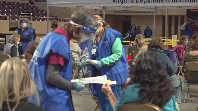 On January 22, thousands of teachers received their first dose of the vaccine