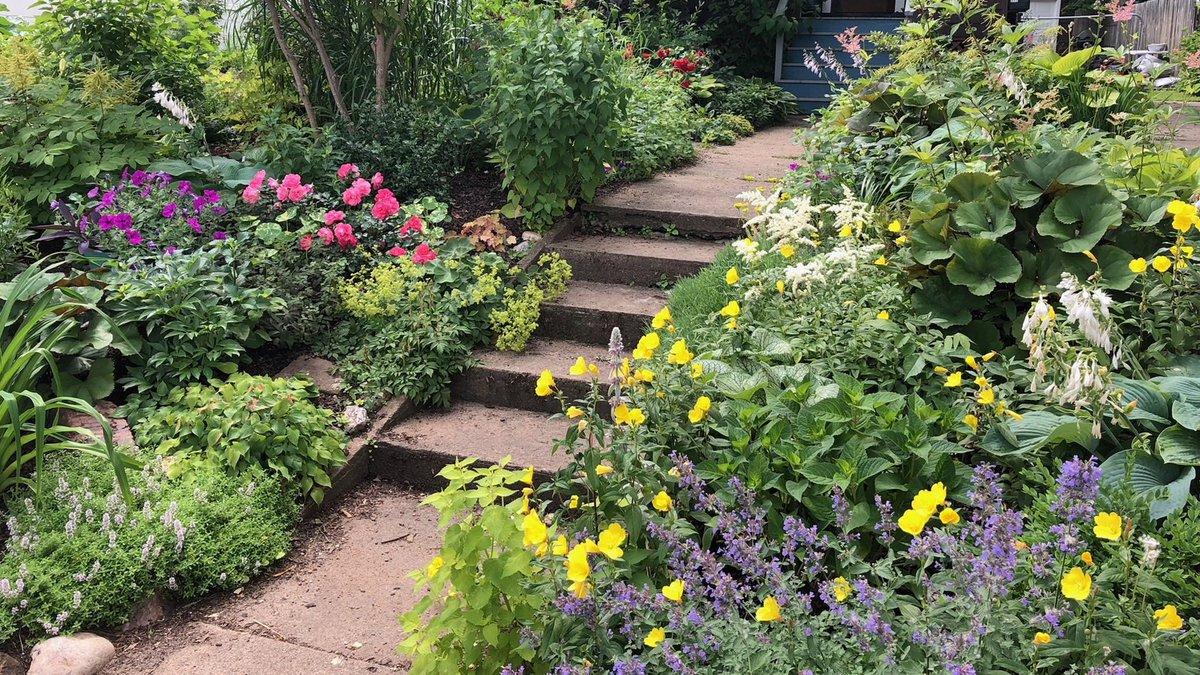 Kim Parlato's Garden at 377 W. Crescent St. in Marquette