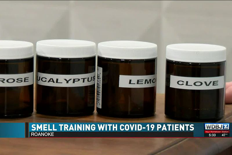 COVID-19 Smell Patients