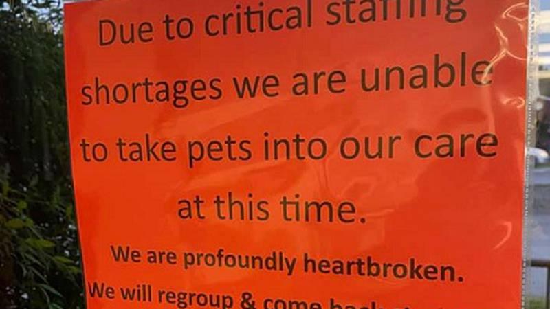 Franklin County Humane Society Staffing Shortage