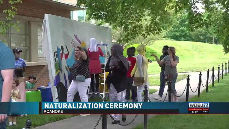Ceremony For Naturalization Roanoke 2021