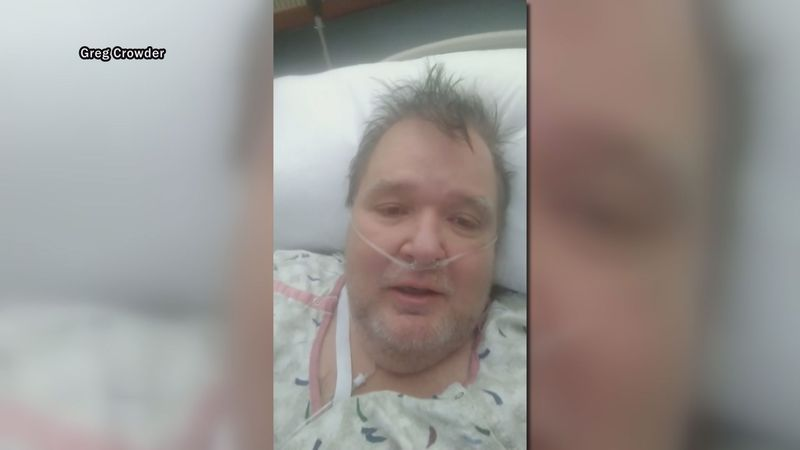 Hillsville's mayor is lucky to be alive after a tough battle with COVID-19 and double pneumonia...