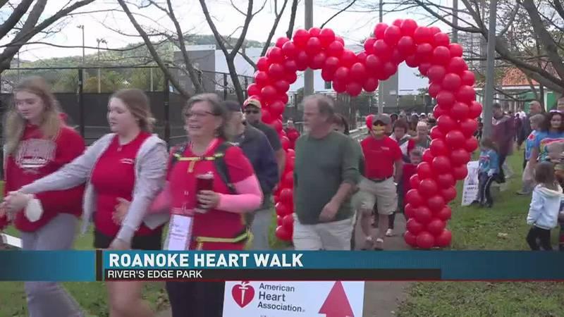 Roanoke Heart Walk