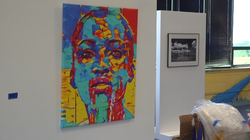 The exhibition of an African-American art exhibit will take place during the center's...