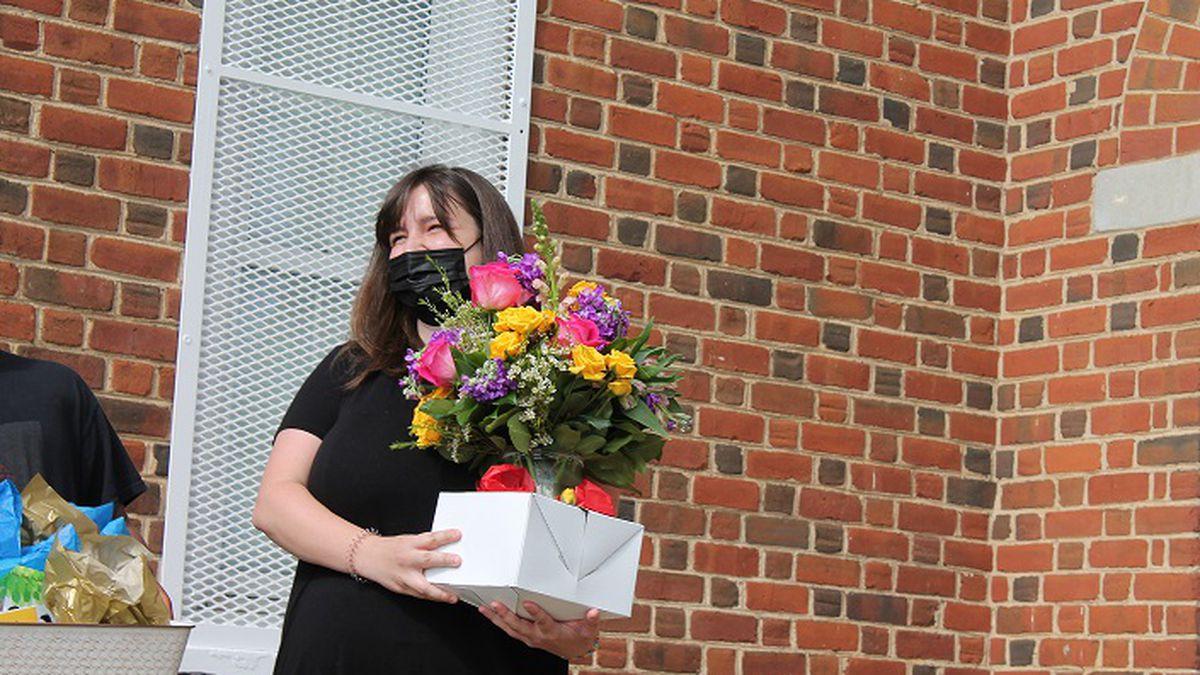 Rachel Parr is Lynchburg's Teacher of the Year for 2021