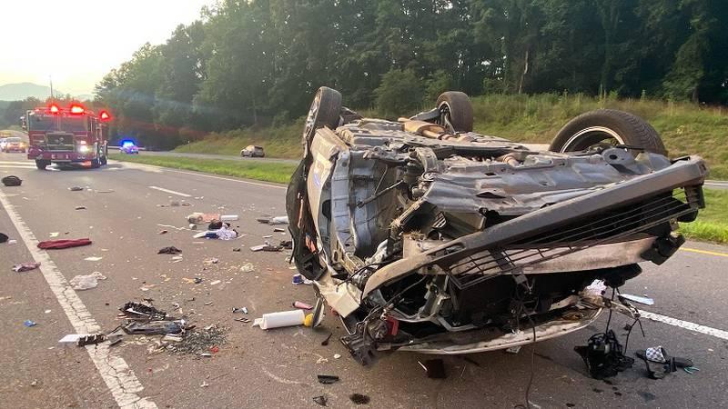 Fatal crash on 460 in Bedford