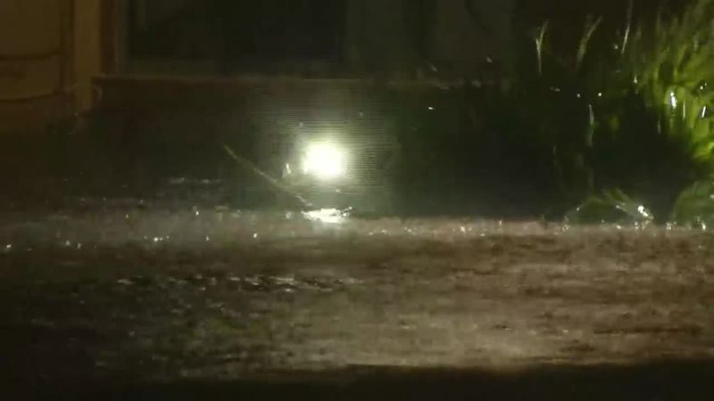 Heavy flooding from Eta is seen in parts of South Florida, where at least one person was...
