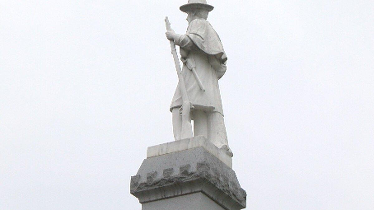 Franklin County Confederate Statue