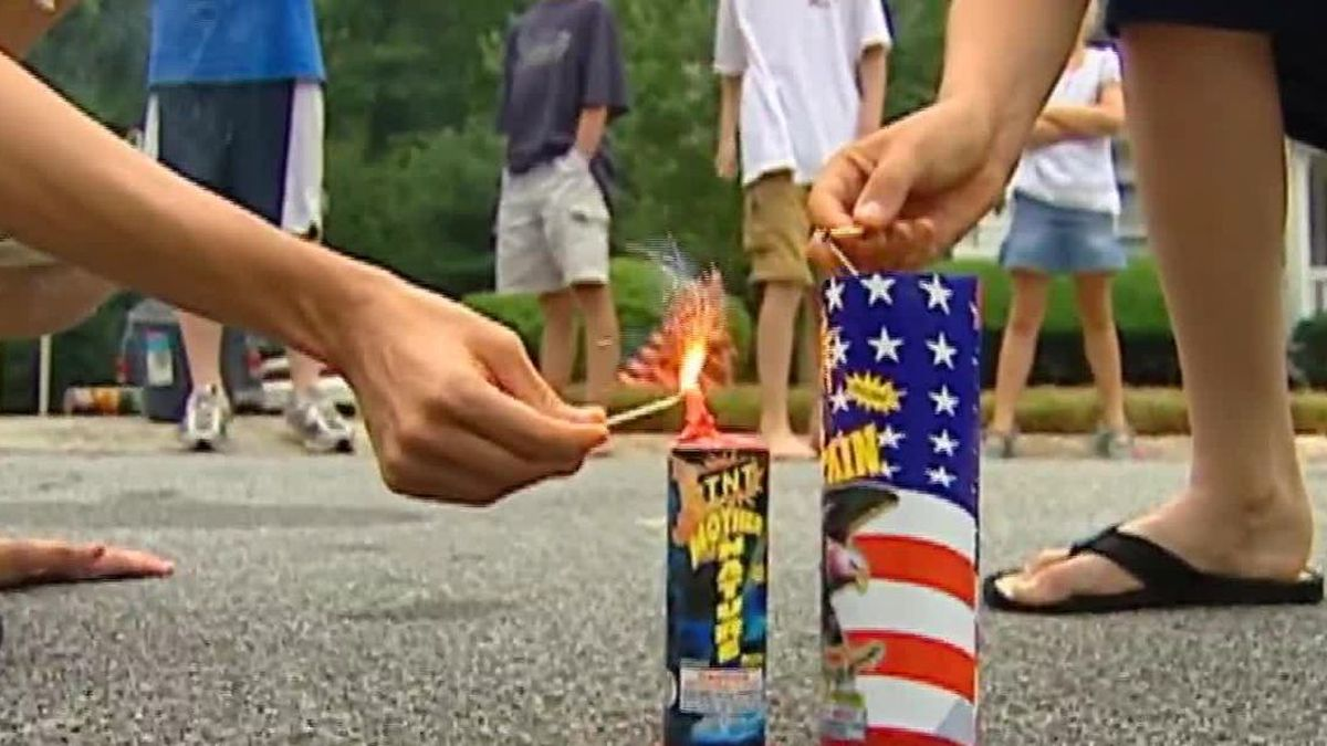 About 10,000 people were treated for fireworks-related injuries in 2019 and 73% of those occurred around the Fourth of July, according to US Consumer Product Safety Commission.