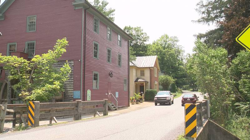 The Inn at Gristmill Square in Warm Springs, Va.