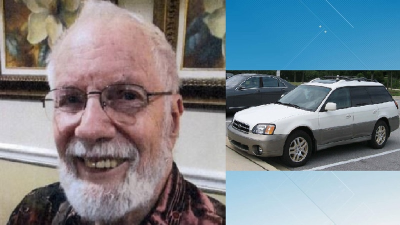 Photo of Vandegriek Jr. and generic 2004 Subaru Outback courtesy Virginia State Police