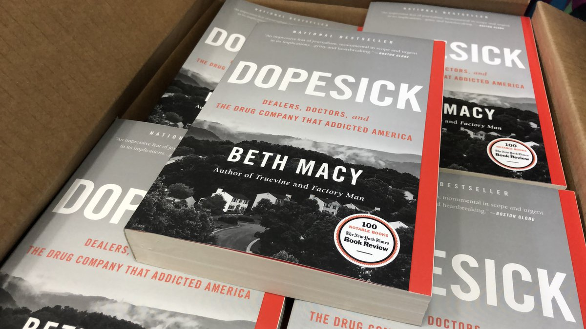 Hulu series based on Beth Macy's book 'Dopesick' is scheduled to begin filming soon in Richmond...