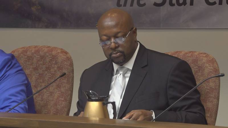 Speaker calls on council member to step aside, but Robert Jeffrey says he is innocent of felony...