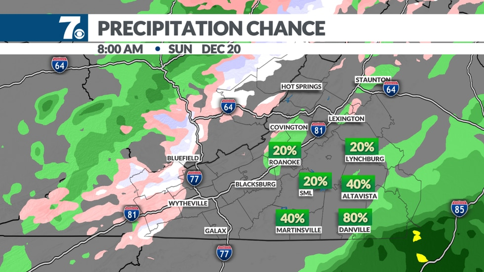 A light mix of freezing rain, sleet and snow is expected early and Sunday morning before...