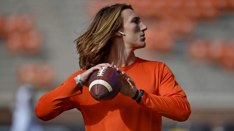 Clemson's QB Trevor Lawrence was the pick as the ACC's Preseason Player of they Year