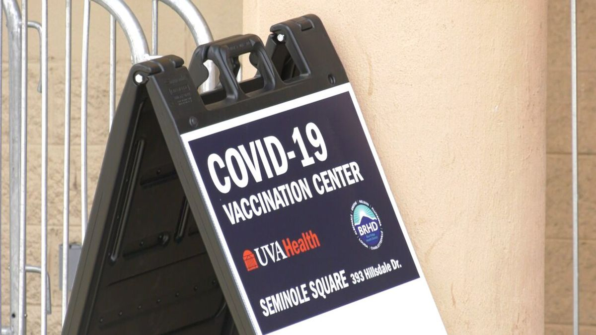 UVA Health's Seminole Square vaccination clinic
