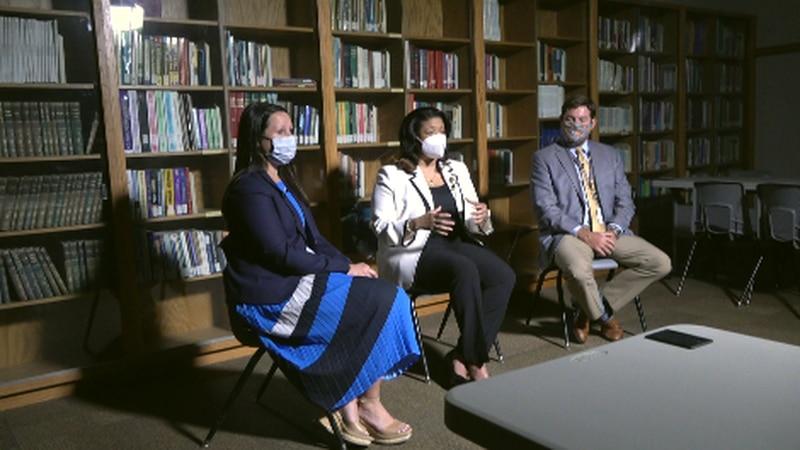 Hayley Poland, Verletta White, and Chris Perkins sit down to discuss Roanoke City Schools'...