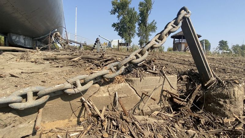 Work begins to cleanup Freedom Park after 2019 flooding