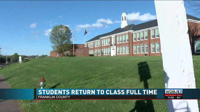 Students Return to Class Full Time