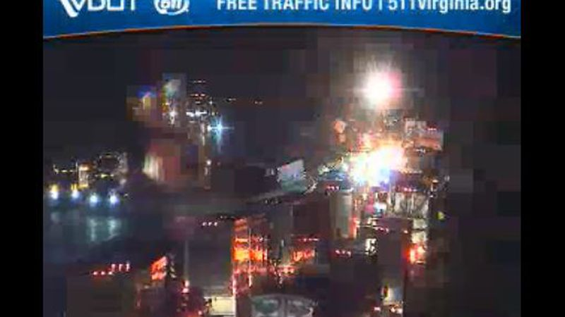Northbound lanes closed near mile marker 119 on Interstate 81 in Montgomery County after an...
