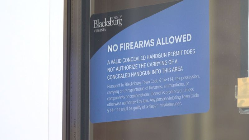 Starting on Monday, March 1, you will no longer be able to carry a firearm with you inside of...