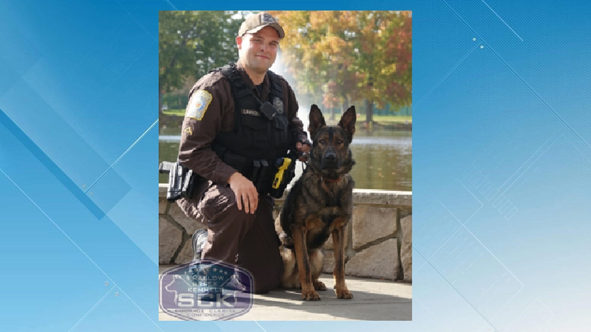 Bedford County K9 Toto and Deputy Lawson
