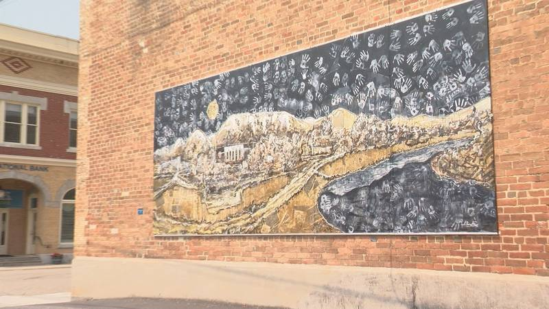 One of the murals in downtown Buena Vista.