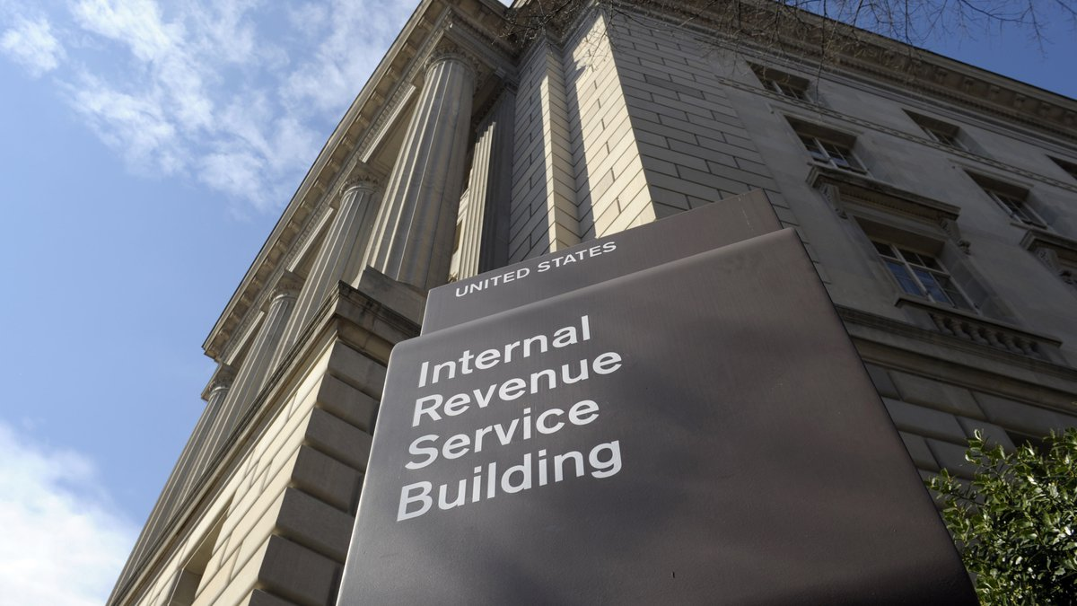 In this photo March 22, 2013, file photo, the exterior of the Internal Revenue Service (IRS)...