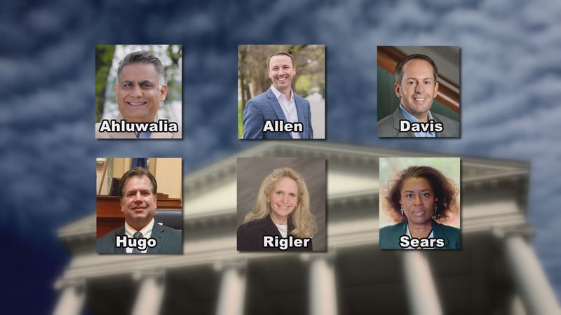 Six Republicans are running for Virginia Lieutenant Governor.