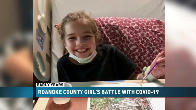 Nine-year-old Roanoke County girl recovers after briefly losing ability to walk after...