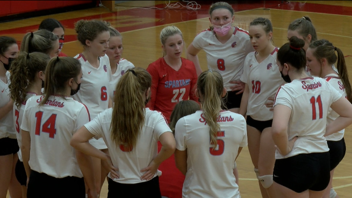 The Giles girls volleyball team defeated Gate City on Tuesday in the Class 2 semifinals.