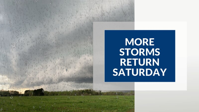 Download the WDBJ7 Weather App and have notifications turned on. More storms are expected again...