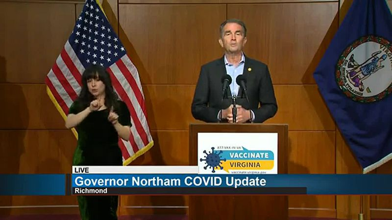 Governor Northam's COVID Update